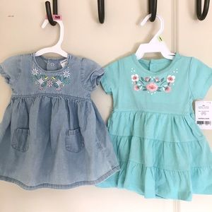 Set of 2 | Carter's 3M dresses